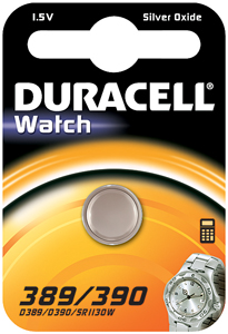 DURACELL Knoopcell Batterij 389-390