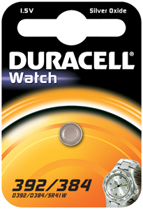 DURACELL Knoopcell Batterij 392-384