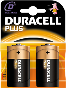 Blister D Cell Plus Batterijen